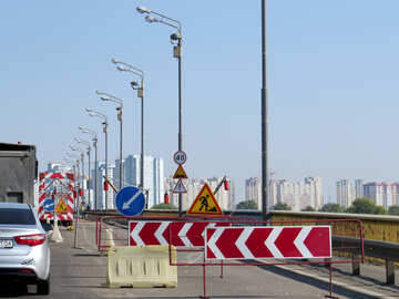 The strip of road is closed for repairs №42517