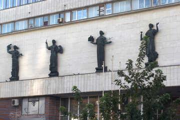 Sculptures creative people №42167