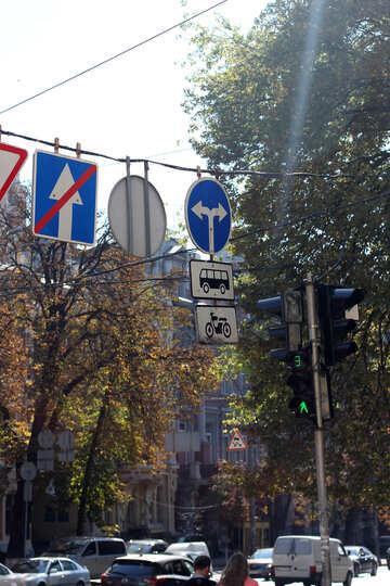 Road signs in Kiev №42010