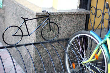 Aparcamiento de bicicletas №42193