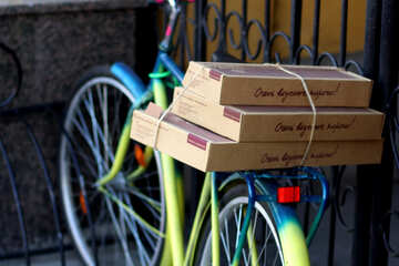 Delivery bike №42191