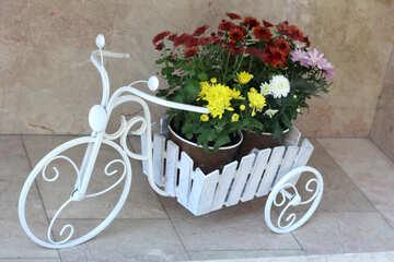 Flowerpot bike №42075