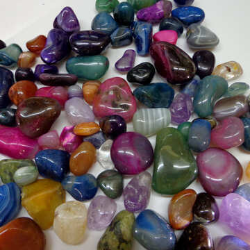 Colored stones №42979