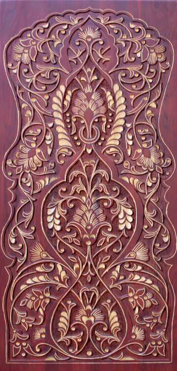 Carved pattern  №42051