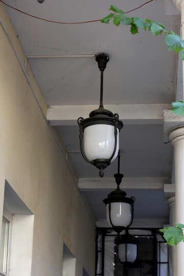 Vintage round lights №42201