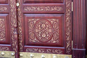 Decorative wood carving №42053