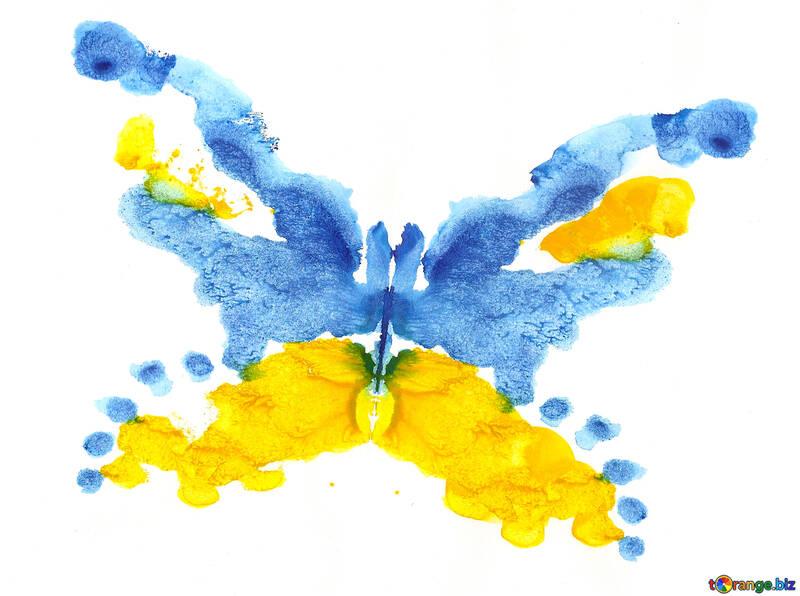 Drawing butterfly №42689