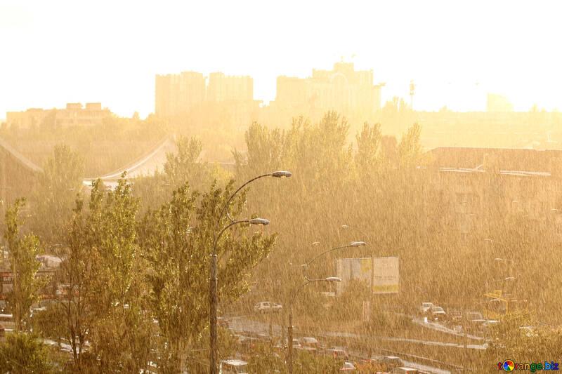 Sera nella città di pioggia №42301