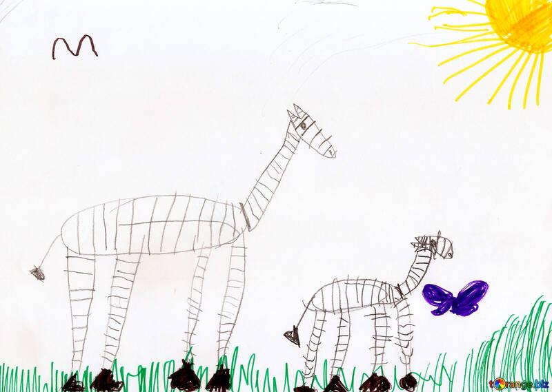 Zebres Dessin Zebre Pour Enfants Excursion 42822