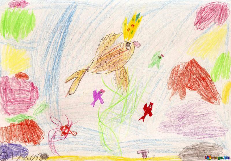 Kinderzeichnung Wasserreich №42832
