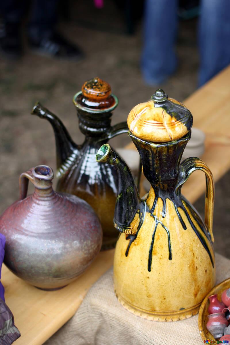 Jarras de cerámica №42405