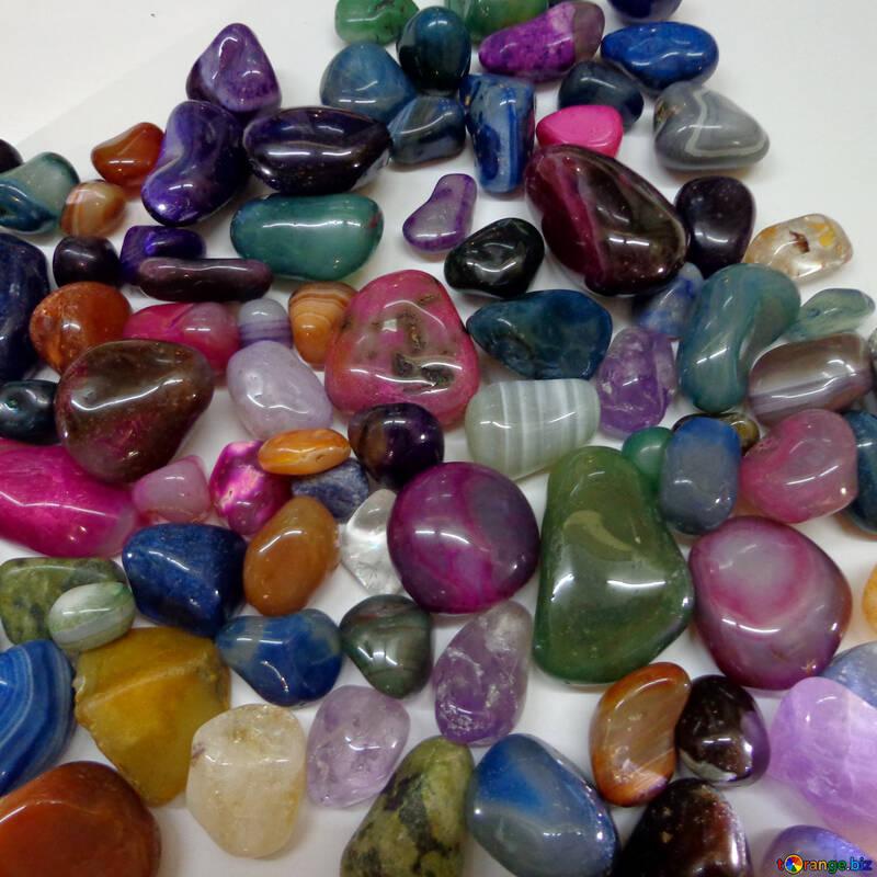 Colored stones №42979
