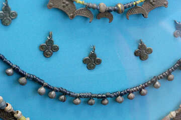 Vintage necklace with bells №43991