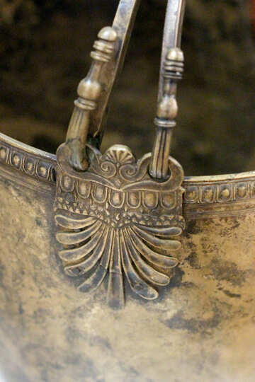 Dear ancient utensils of bronze №43926