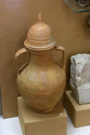Ancient pitcher №43768
