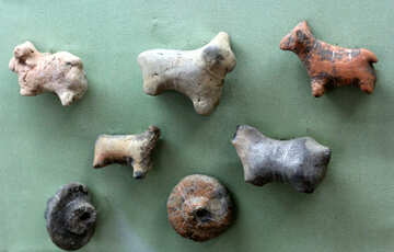 Ancient figures of animals 12th century BC №43777