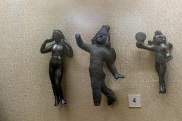 Ancient bronze figurines №43733