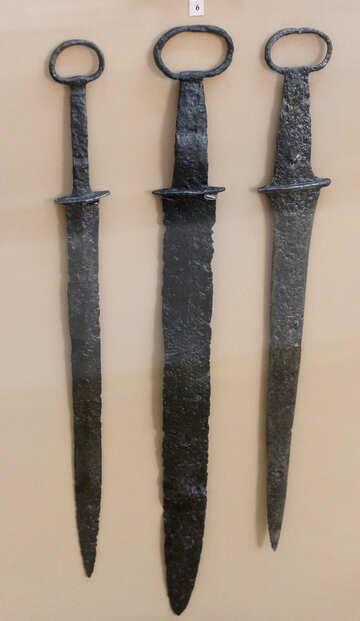 Dagger ancient Scythians №43874