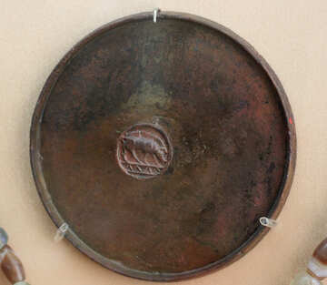 Antique mirror 7th century BC №43936