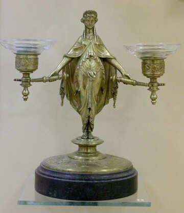 Antique candlestick №43259