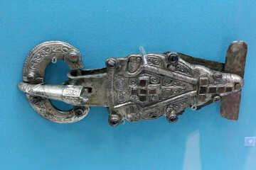 Ancient belt buckle №43964