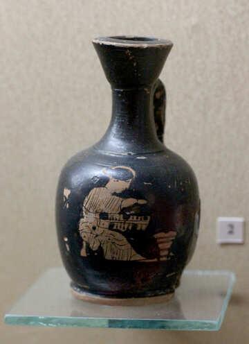 Ancient pitcher №43725