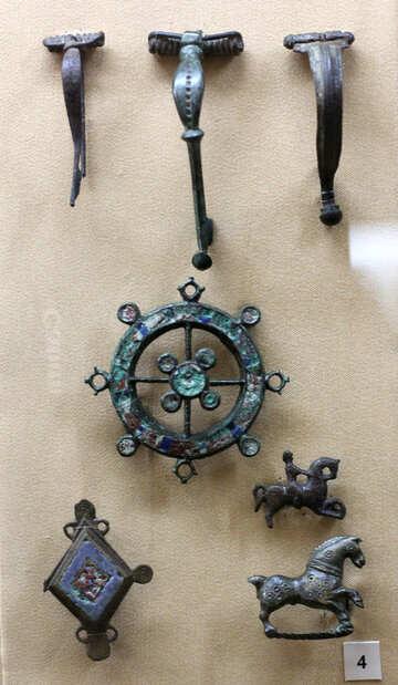 ANCIENT brooch №43740
