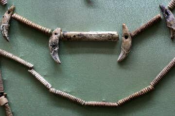 Beads of bone №43820