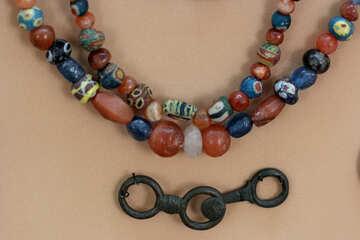 Old folk beads №43855