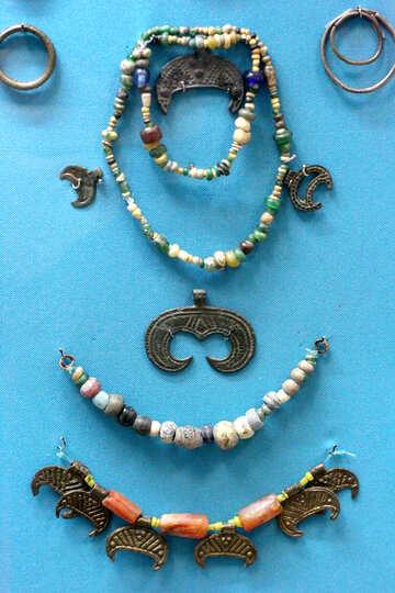 Vintage jewelry beads №44000