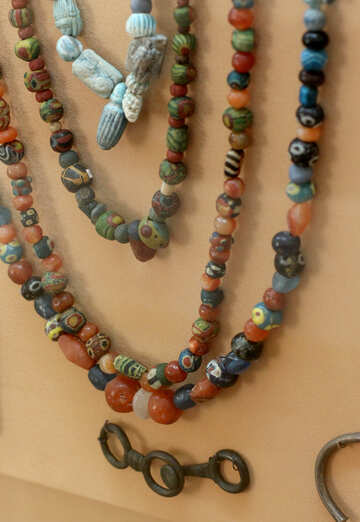 Ukrainian Ancient beads №43856