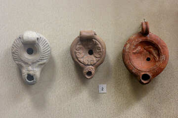Ancient ceramic lamps 1st century  №43758