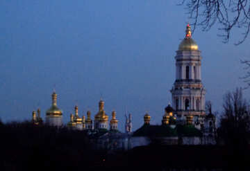 Pechersk Lavra in the evening №43118