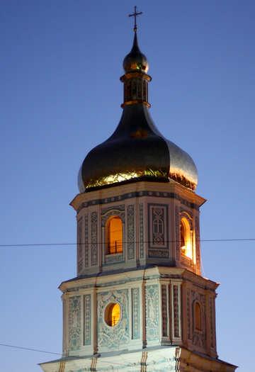 Софиевский собор вечером №43681