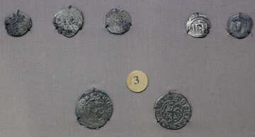 Coins Lithuanian principality 15th century