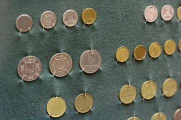 Unique Ukrainian coins №43519
