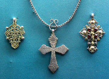 Vintage crosses №43641
