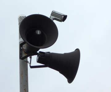 Siren with camera surveillance №43099
