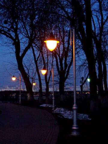 Luci di sera a Kiev №43111