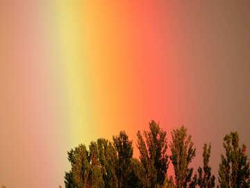 Regenbogen in den Himmel №43247