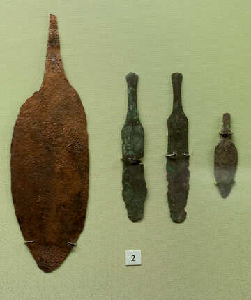 Bronze knives 3000 years BC №43810