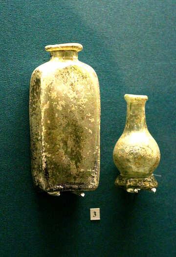 Vintage bottles made of glass №43673
