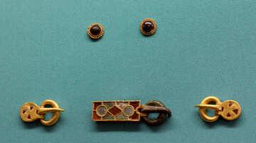 Antique gold hardware №43950