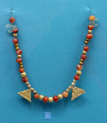 Scythian gold beads №43952