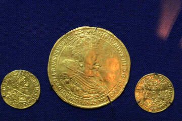 Golden coins №43425