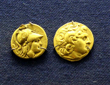 Gold coins of ancient Rome №43492