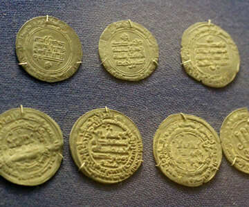 Arab gold coins №43501