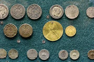 Austrian gold coins №43587