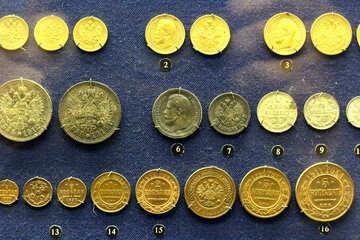 Monete d`oro della Russia imperiale №43470