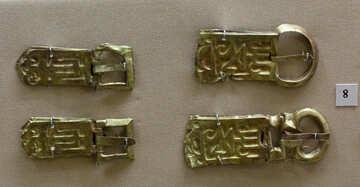 Golden buckle №43754
